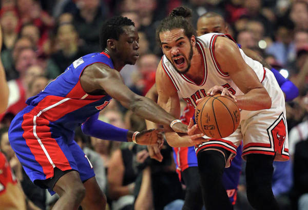 Chicago Photograph - Detroit Pistons V Chicago Bulls by Jonathan Daniel