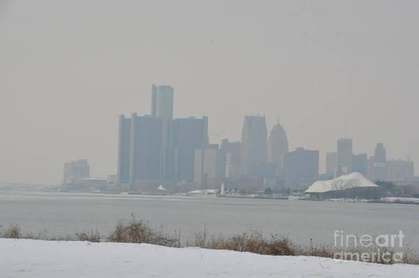 Photograph - Detroit Skyline by Randy J Heath