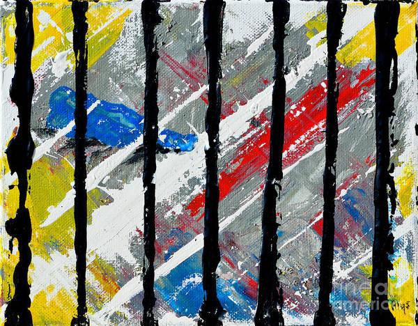 Alcoholism Painting - Devastation by Alys Caviness-Gober