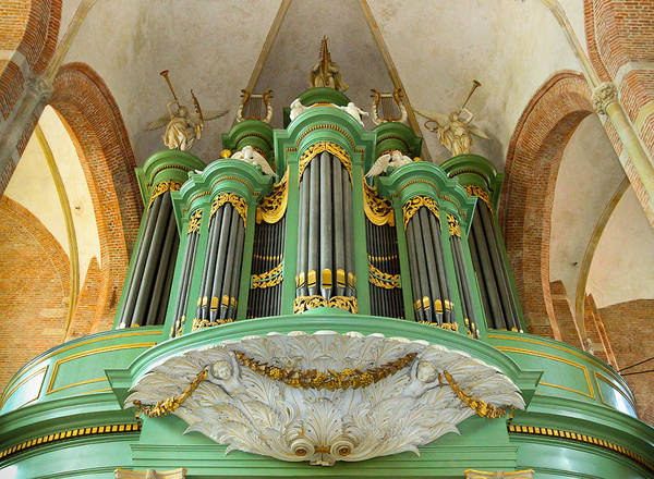Photograph - Deventer Organ by Jenny Setchell