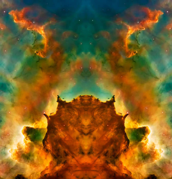 Wall Art - Photograph - Devil Nebula by Jennifer Rondinelli Reilly - Fine Art Photography