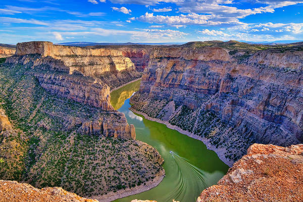 Art Print featuring the photograph Devil's Canyon Overlook by Greg Norrell