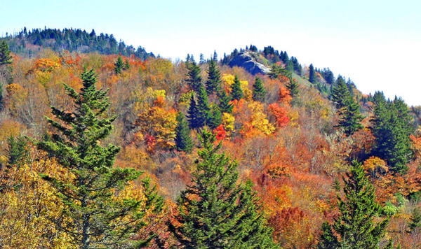 Photograph - Devil's Courthouse Rock In The Fall 2 by Duane McCullough