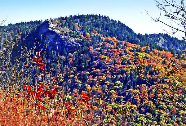 Photograph - Devil's Courthouse Rock In The Fall by Duane McCullough