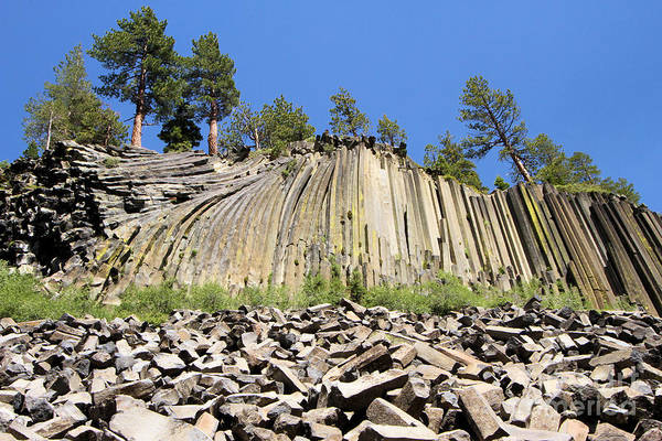 Photograph - Devils Postpile by Adam Jewell