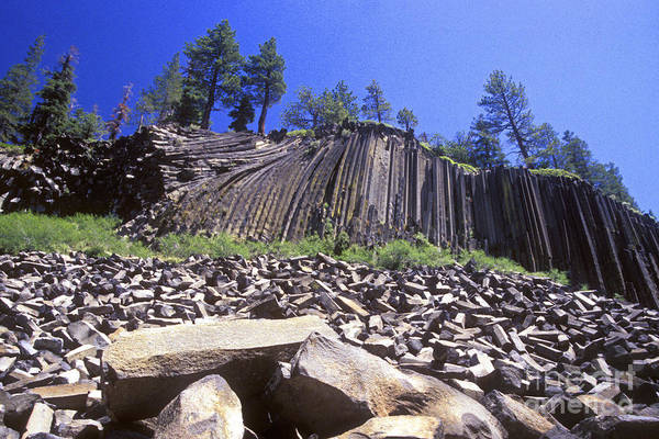 Wall Art - Photograph - Devils Postpile by Paul W Faust -  Impressions of Light