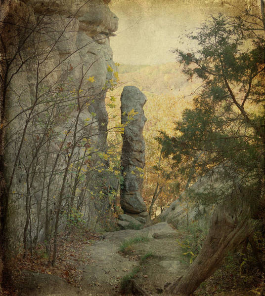 Photograph - Devil's Smokestack by Sandy Keeton