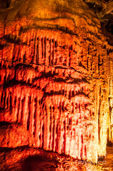 Photograph - Devils Stalactite by Anthony Sacco