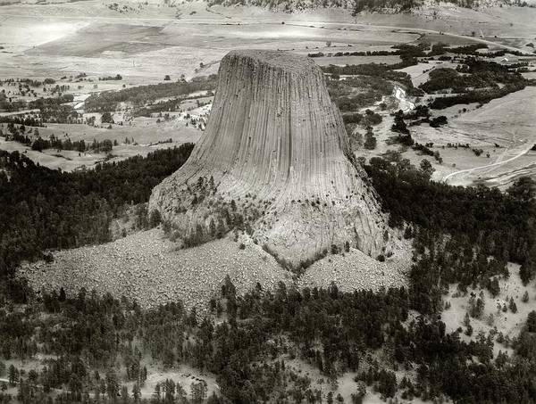Army Air Corps Photograph - Devils Tower by American Philosophical Society