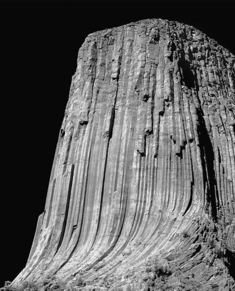 Photograph - 109851-bw-e-devil's Tower Bw 3 by Ed  Cooper Photography