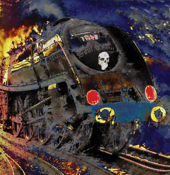 Digital Art - Devil's Train by Pennie McCracken