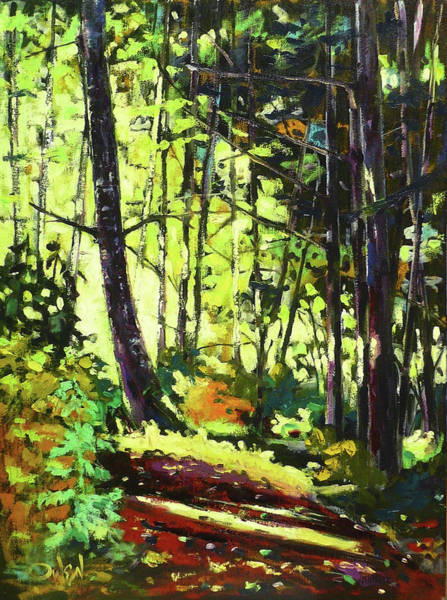 Painting - Devonian Trail  by Rob Owen