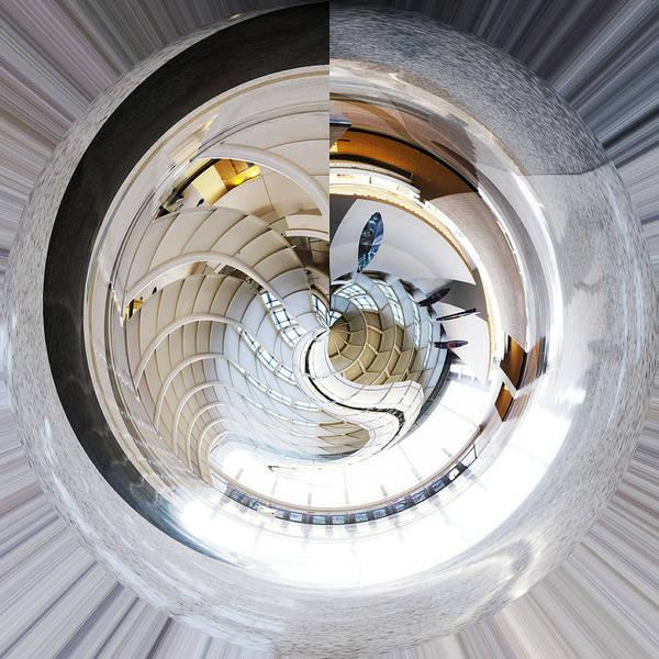 Photograph - Devos Place Concept Grand Rapids Michigan by Evie Carrier