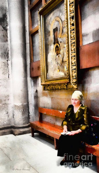 Church Of The Holy Sepulcher Photograph - Devotion by Elena Comens