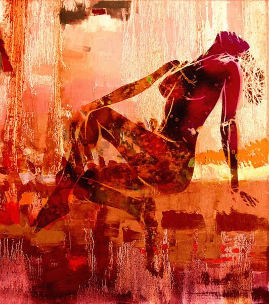 Wall Art - Painting - Devotion by Steve K
