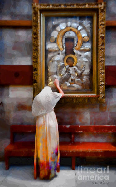 Church Of The Holy Sepulcher Photograph - Devout Worship by Barnett Comens