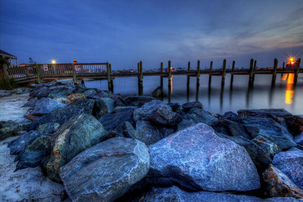 Photograph - Dewey Beach Sunset by David Dufresne