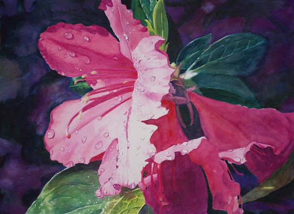 Painting - Dewy Azalea by Christopher Reid