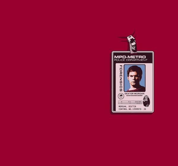 Suspense Digital Art - Dexter - Badge by Brand A