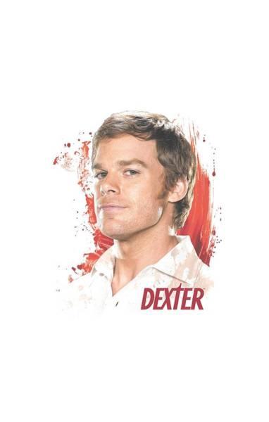 Suspense Digital Art - Dexter - Blood Splatter by Brand A