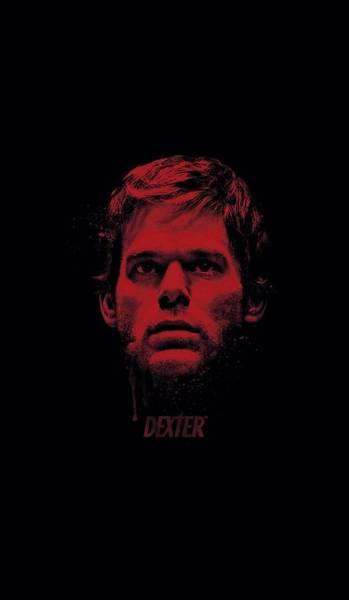 Suspense Digital Art - Dexter - Bloody Face by Brand A