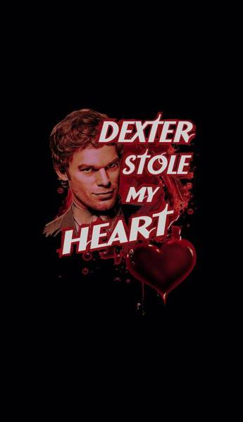 Shows Digital Art - Dexter - Bloody Heart by Brand A