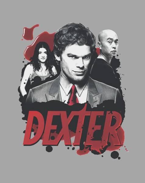 Suspense Digital Art - Dexter - Bloody Trio by Brand A