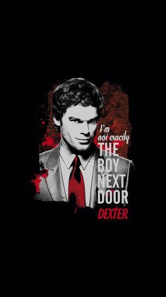 Suspense Digital Art - Dexter - Boy Next Door by Brand A