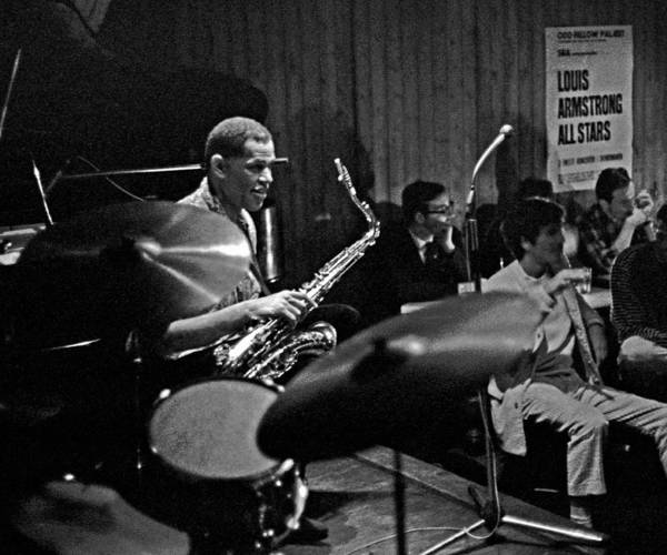 Photograph - Dexter Gordon 1 by Lee Santa