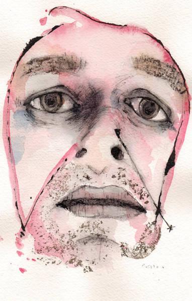 Pen Painting - Dexter Morgan As The Dark Passenger by Mark M  Mellon