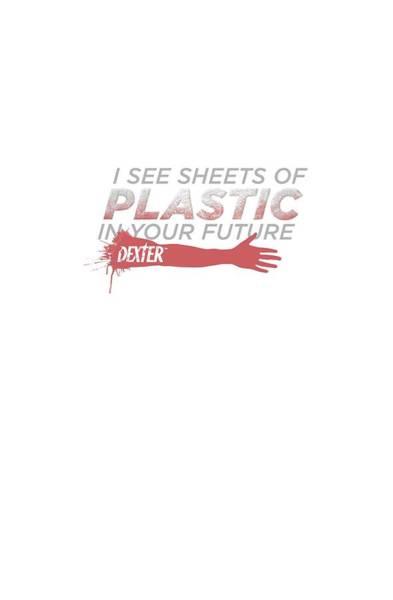 Suspense Digital Art - Dexter - Plastic Prediction by Brand A