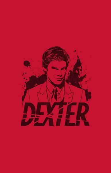 Shows Digital Art - Dexter - Splatter Dex by Brand A