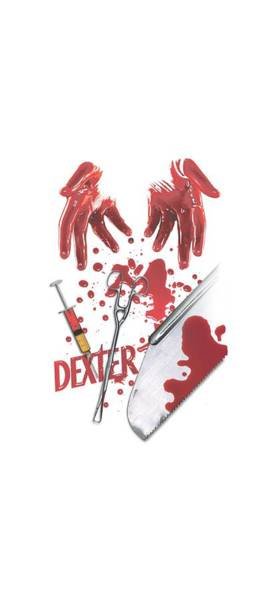 Suspense Digital Art - Dexter - Tools Of The Trade by Brand A