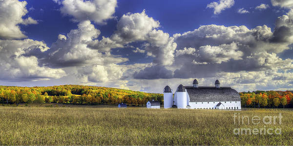 Wall Art - Photograph - Dh Day Farm In Fall  by Twenty Two North Photography
