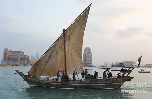 Photograph - Dhow And Hotels by Paul Cowan