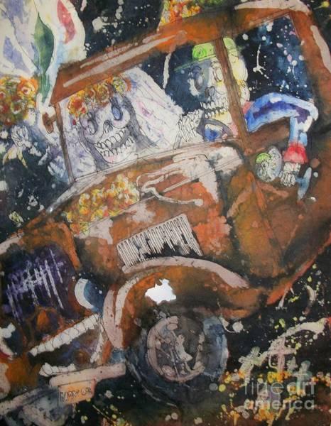 Painting - Dia De Los Muertos by Carol Losinski Naylor
