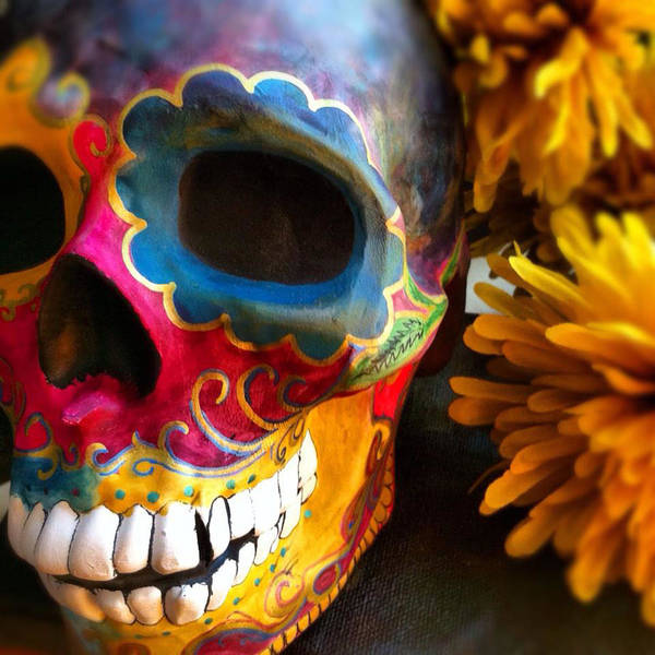 Wall Art - Photograph - Dia De Los Muertos by Estela Gama