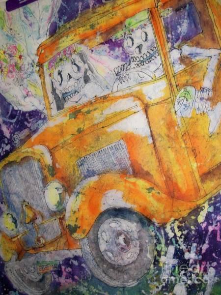 Painting - Dia De Los Muertos II by Carol Losinski Naylor
