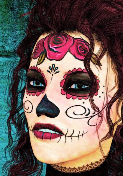 Painting - Dia De Los Muertos by Maynard Ellis