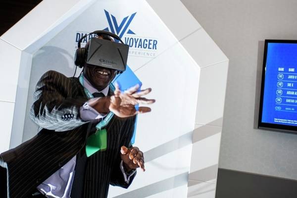 Voyager Photograph - Diabetes Virtual Reality Demonstration by Dan Dunkley