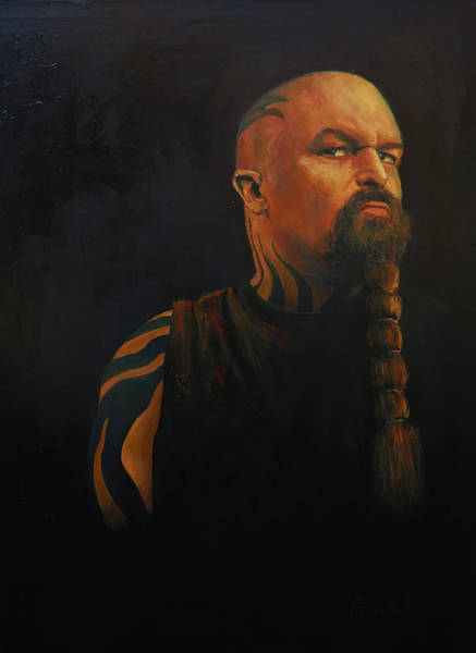 Slayer Painting - Diabolus In Musica by Alexei Biryukoff