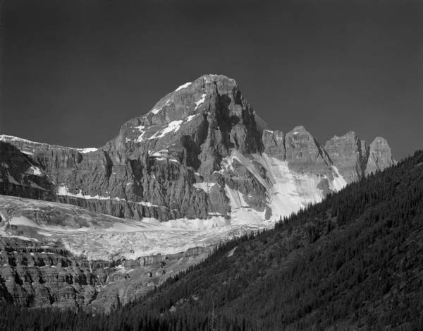 Photograph - 1m3728-bw-diadem Peak by Ed  Cooper Photography