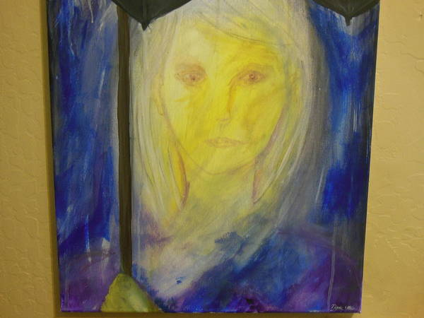 Ambiguous Painting - Diagnosed With Depression  by Anna Lee