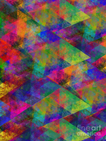 Digital Art - Diamond Abstract by Andee Design
