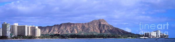 Photograph - Diamond Head In Honolulu  by Les Palenik