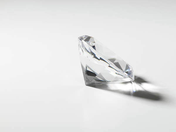 Prosperity Photograph - Diamond In Studio by Zing Images