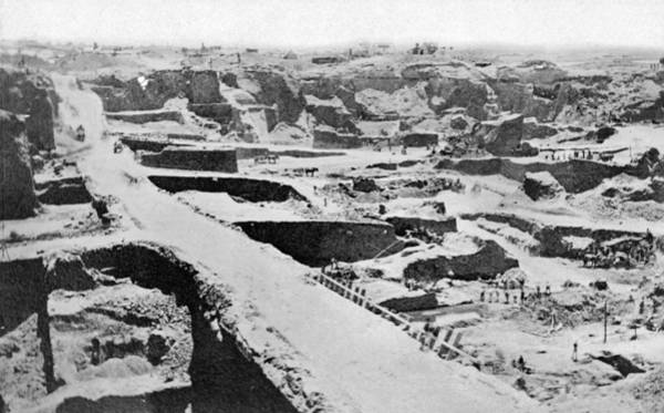 Photograph - Diamond Mining, 1882 by Granger