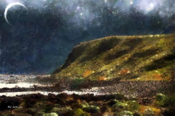 Painting - Diamond Sky by RC DeWinter