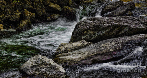 Photograph - Diamonds And Granite  by Dave Bosse