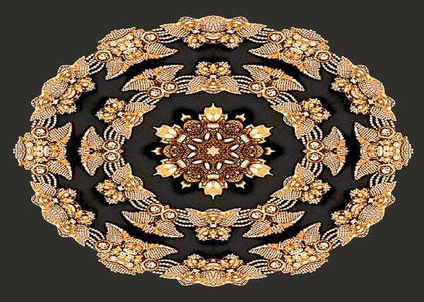 Digital Art - Diamonds And Pearls by Charmaine Zoe